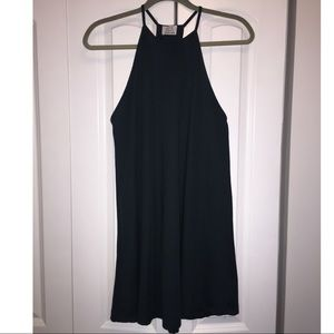 Zara Trapeze Dress, Dark Green, Small